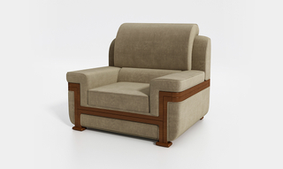 Leisure Home Living Room Sofá cama reclinable de cuero genuino (Mallory)